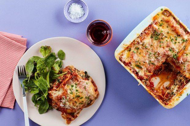 15-Minute Microwave Lasagnas
