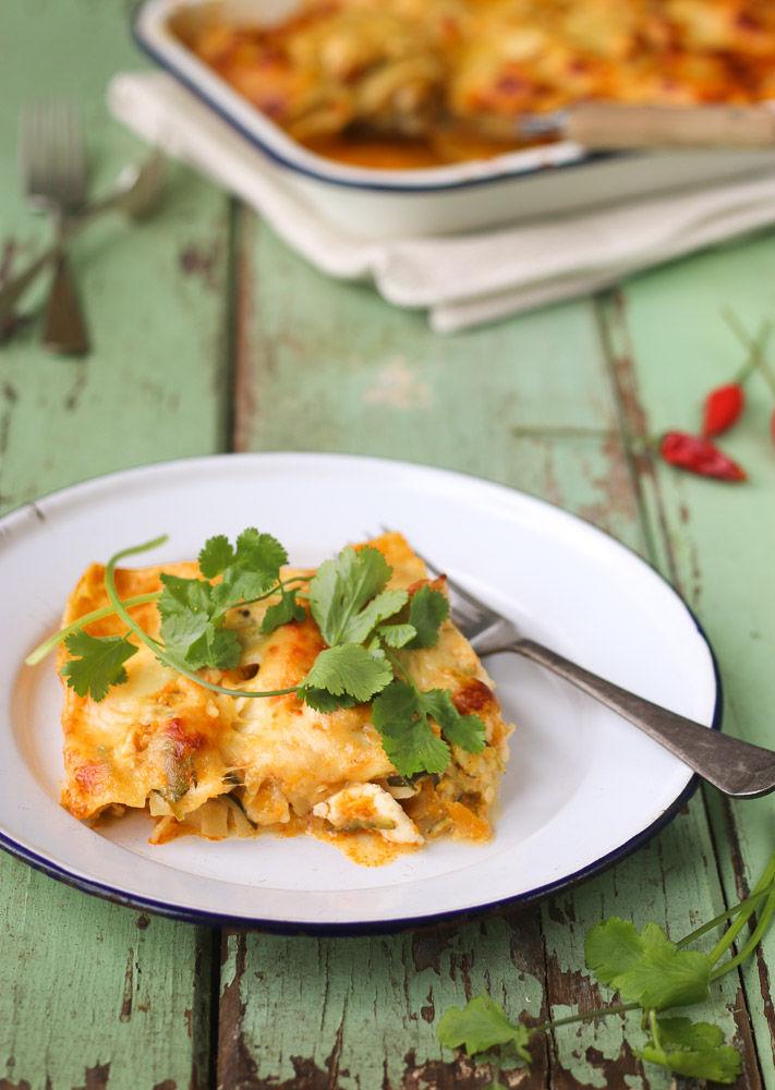 Spicy Thai Lasagnas