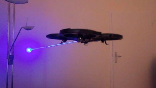 Laser-Firing Drones