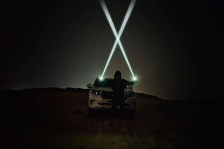 Targeted Laser Flashlights