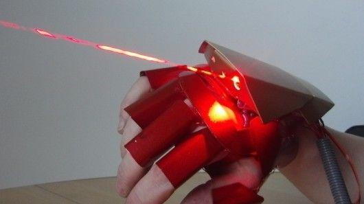 Superhero Laser Gloves