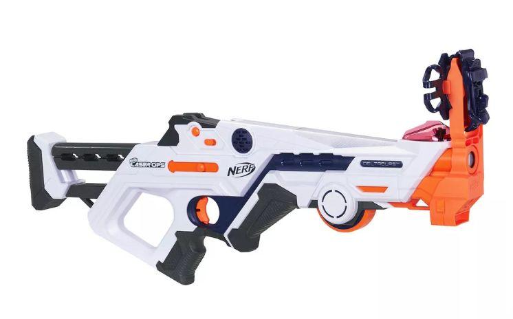 AR-Infused Laser Blasters