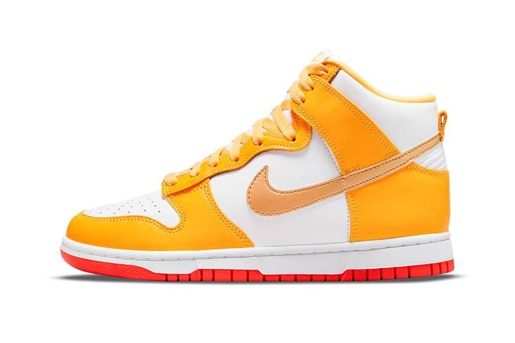 Summery Tonal High-Top Sneakers