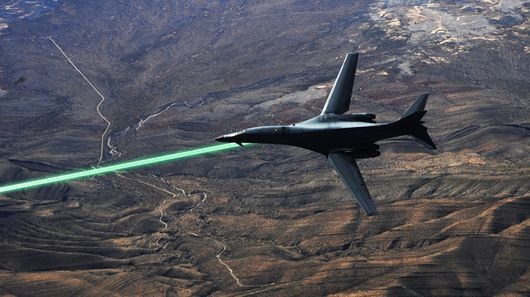 All-Electric Laser Weapons