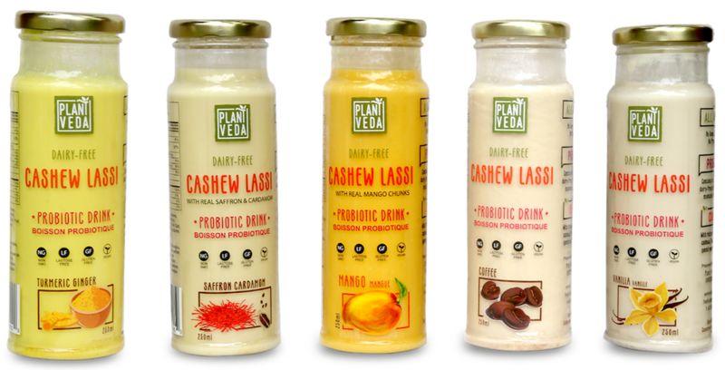 Cashew-Based Lassi Beverages
