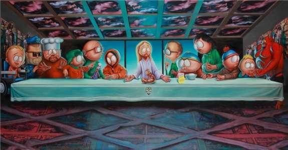 Biblical Cartoon Parodies