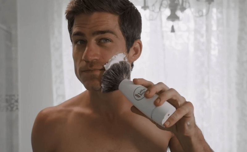 Automated Shave Lather Brushes