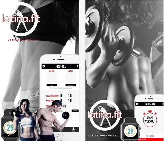 Latina Fitness Apps
