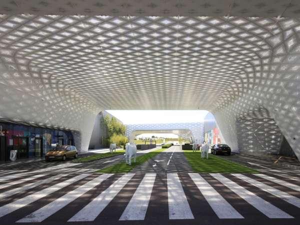 Sci-Fi Retail Centers