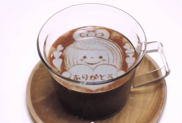Artistic Latte Sheets