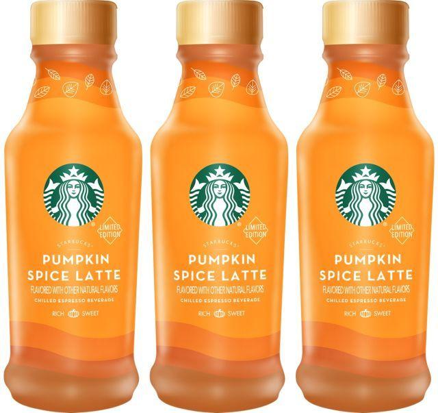 Bottled Seasonal Latte Beverages