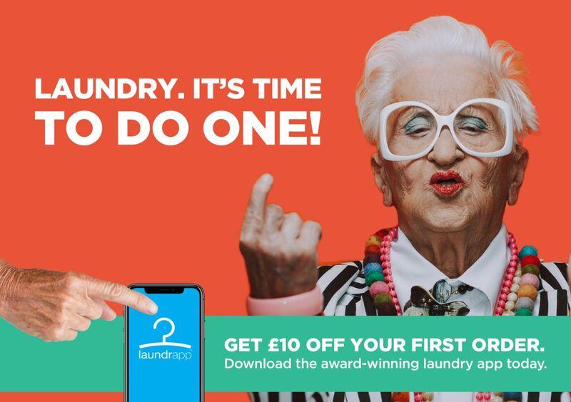 Millennial-Target Laundry App Ads