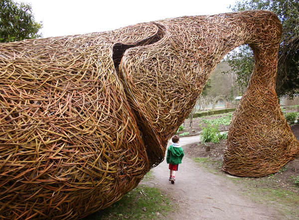 Woven Willow Artwork