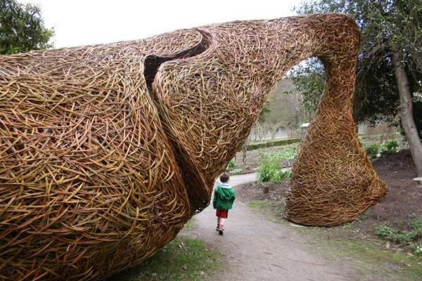 Expansive Nest-Like Sculptures