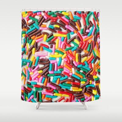 Sprinkle Shower Curtains