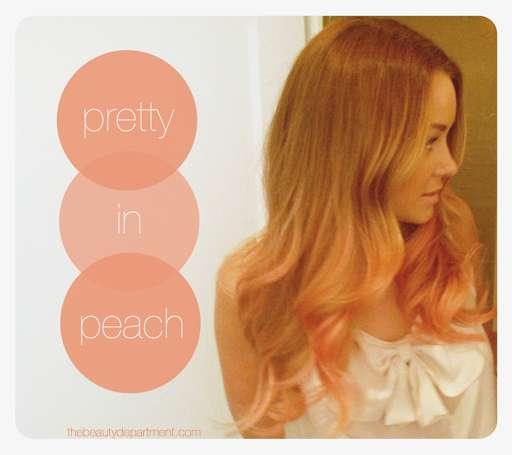 Plush Peachy Tresses