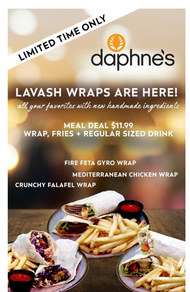 Mediterranean Lavash Bread Wraps