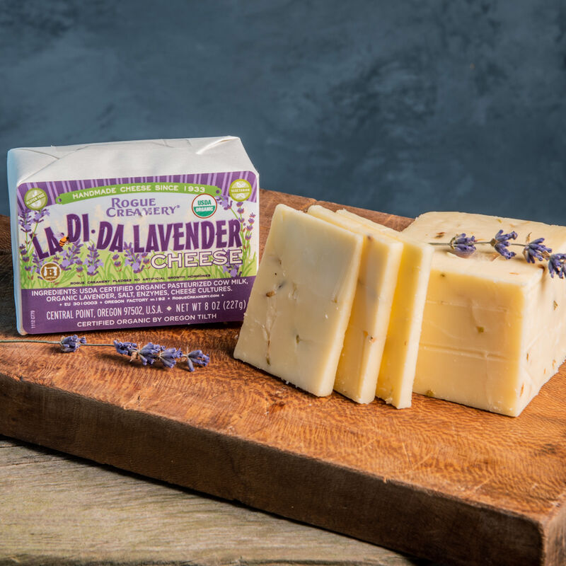 Floral Cheddar Cheeses