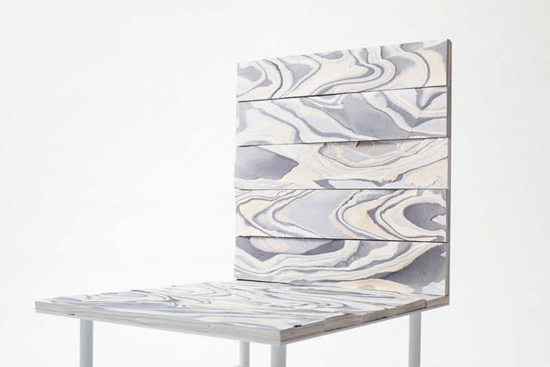 Layered Fabric Furniture