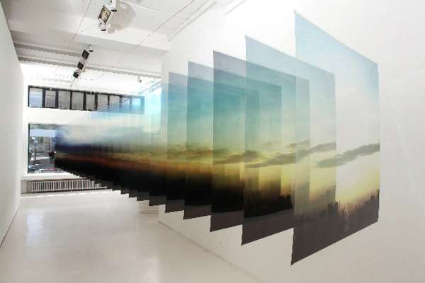 Layered Landscape Art
