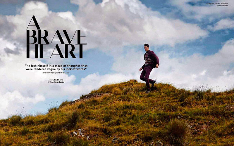 Scenic Menswear Editorials