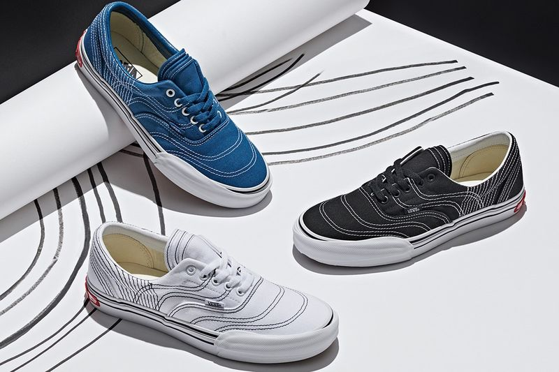 Layered Shoe Silhouettes