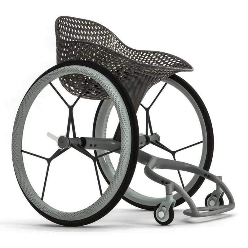 Beautiful 3D-Printed Wheelchairs
