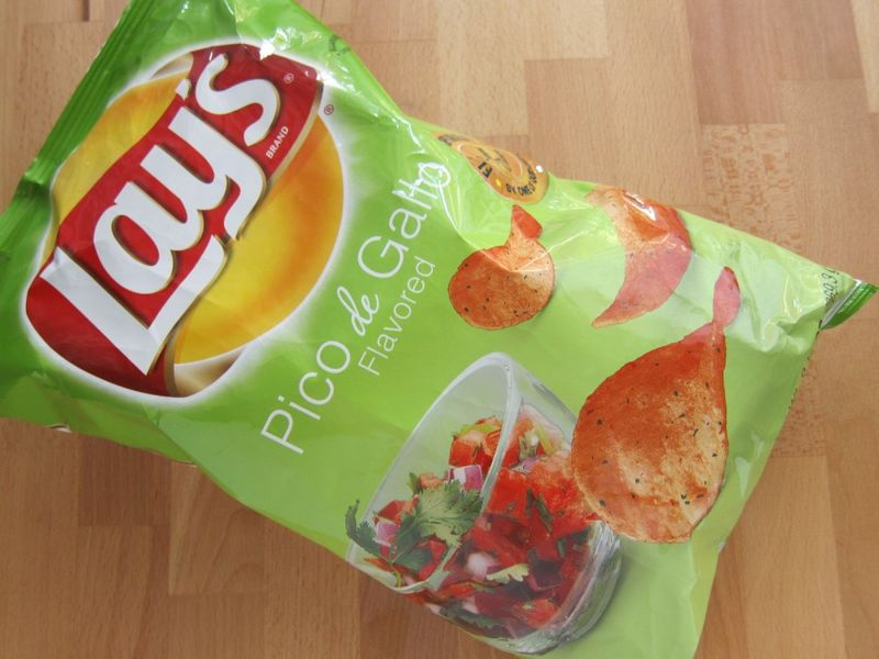 Salsa-Flavored Potato Chips