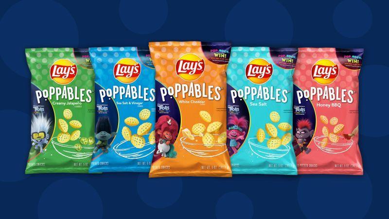 Cartoony Popped Snack Branding