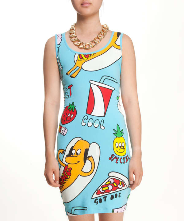 Bold Fast-Food Fashions