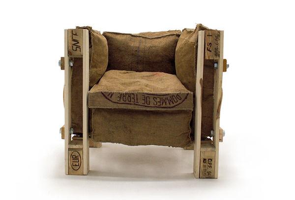 Repurposed Skid Seating Lc2 Chair