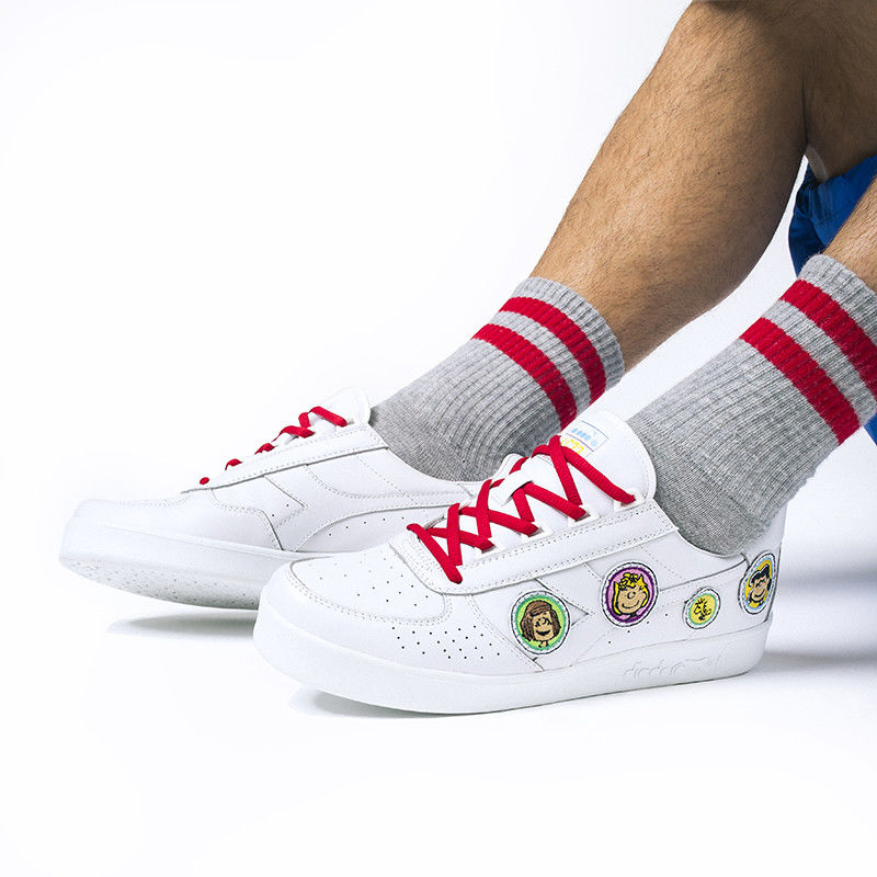 Nostalgic Cartoon-Accented Shoes