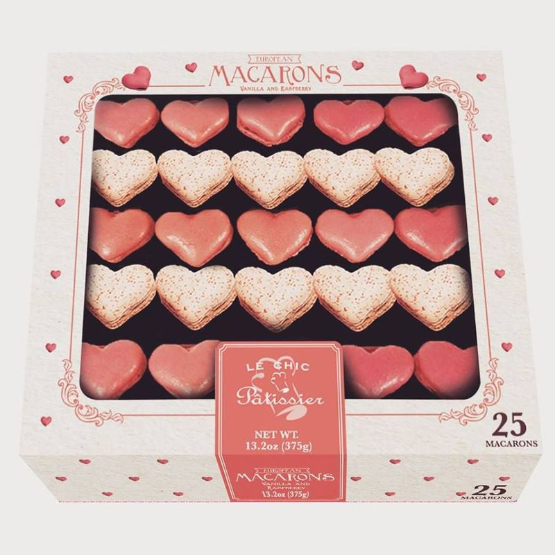 Heart-Shaped French Cookies