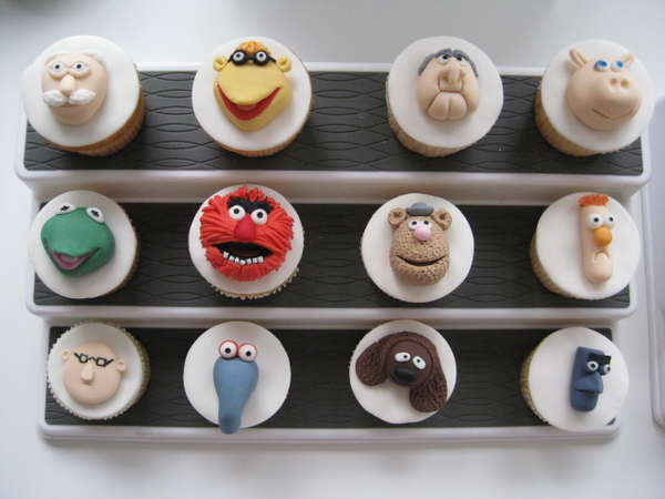 Puppet Cupcakes