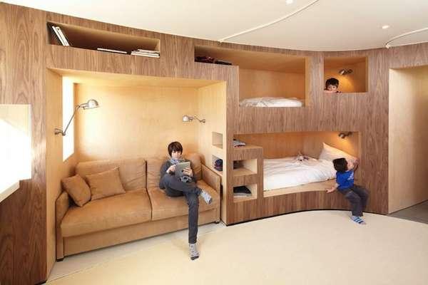 Compact Cubby Hole Apartments Le Refuge Apartments