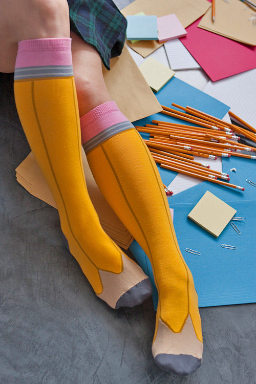 Stylish Stationary Socks