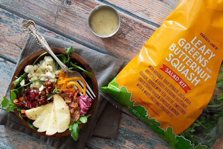 Squash-Based Salad Kits