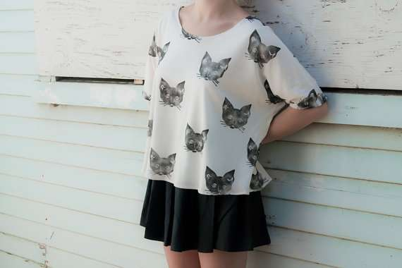 Cat-Speckled Clothing
