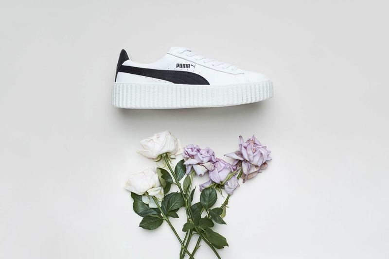 Sleek Leather Platform Sneakers