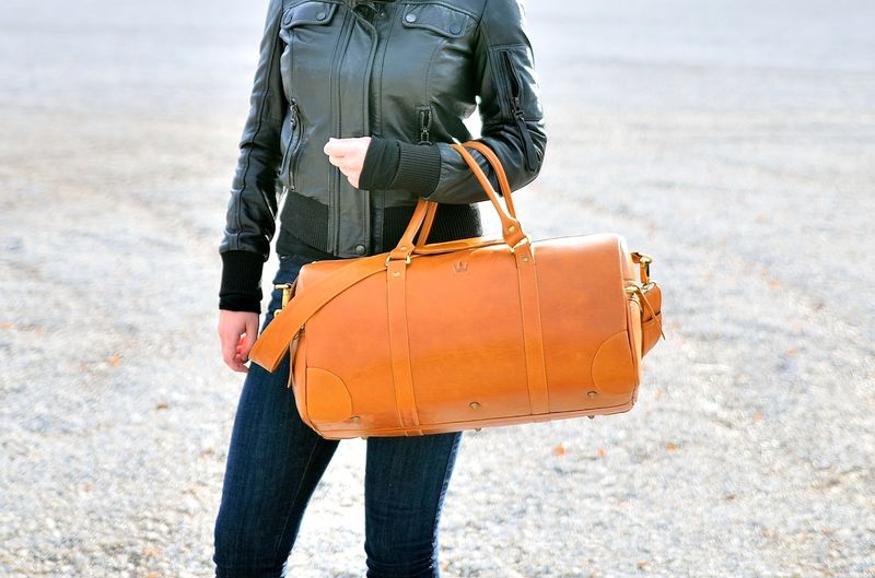 Durable Leather Lifestyle Bags