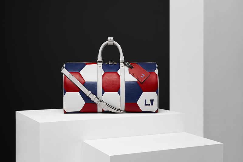 Soccer-Inspired Leather Goods Collections