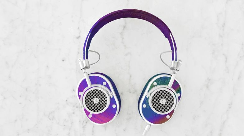 Color-Changing Leather Headphones