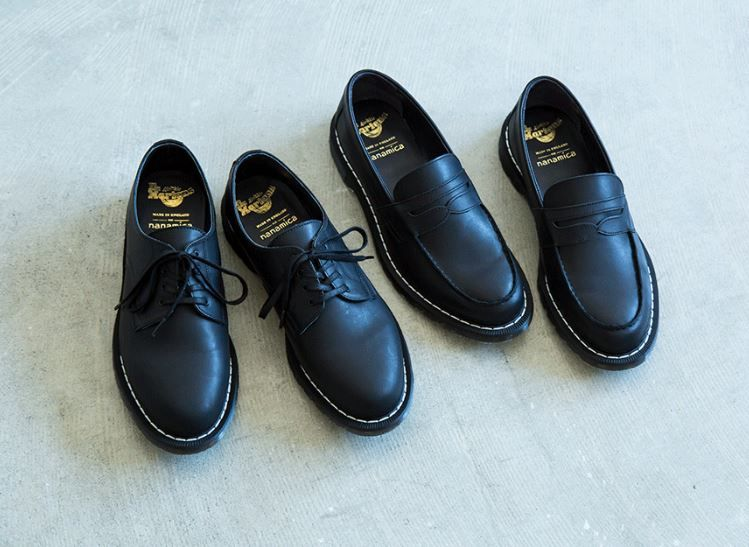 Co-Branded Leather Loafer Shoes