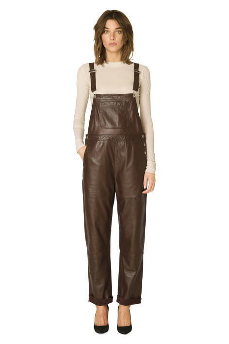 Fall Leather Overalls