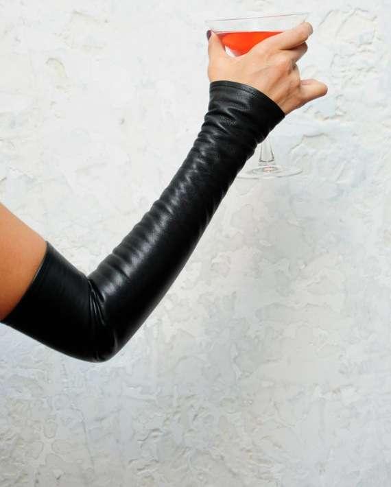 Fingerless Arm Gloves