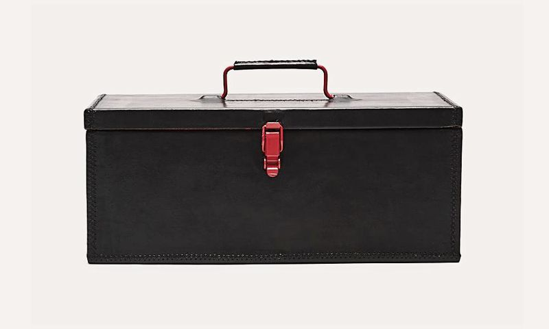 Opulent Leather Toolboxes