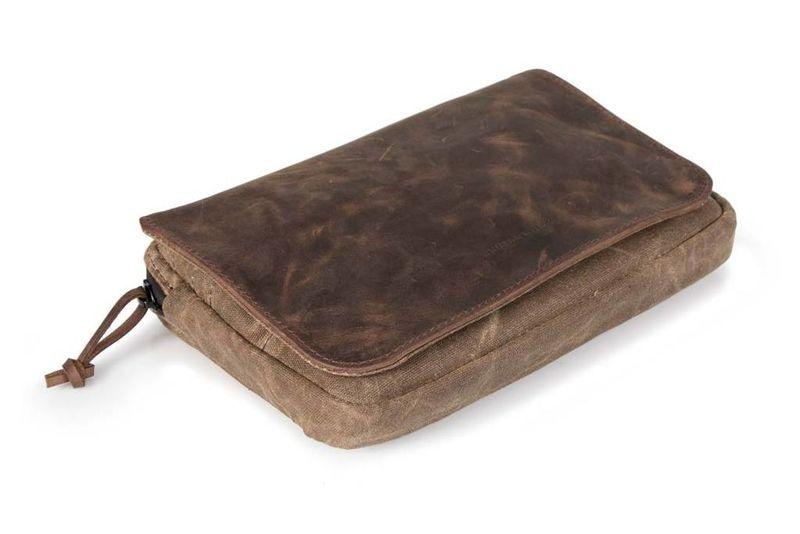 Sleek Leather Travel Accessories