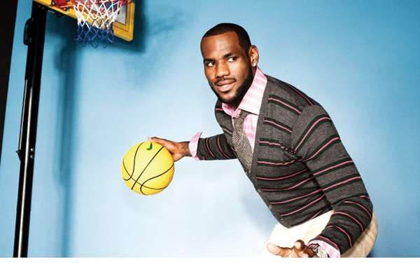 Self-Styled Fashion Shoots : LeBron James GQ
