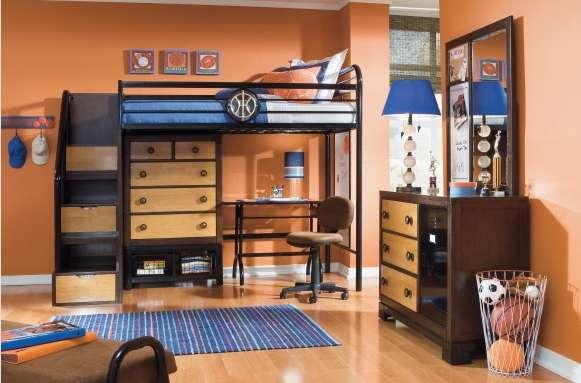 Basketball Bedroom Sets Lebron James Home Court