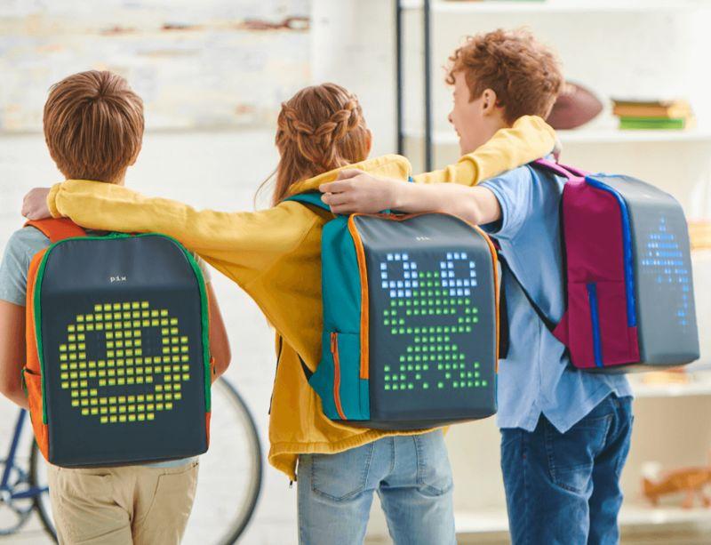 Customizable LED Backpacks